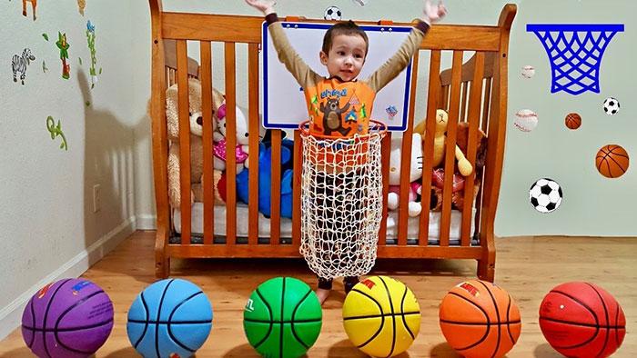 ورزش کودکان در خانه