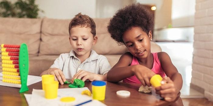 آموزش خمیربازی کودکان