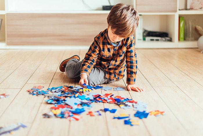 پازل بازی کودکان سه ساله