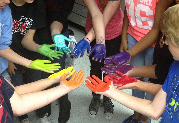 آموزش رنگ برای کودکان با بازی