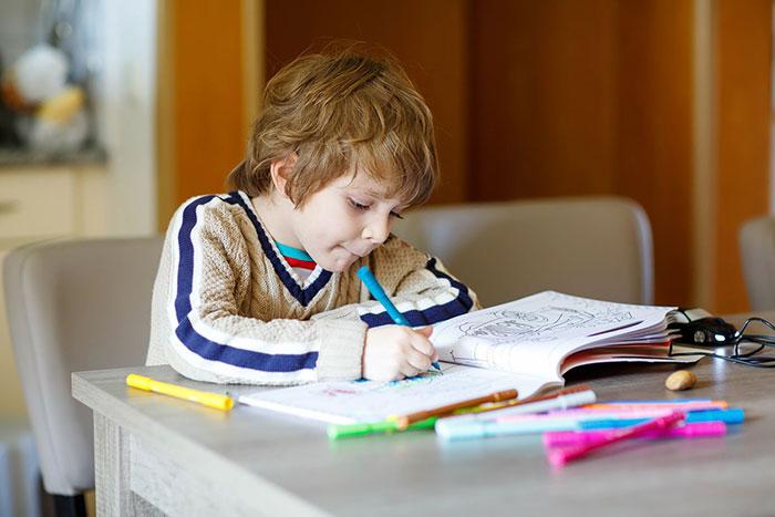 راه های بالا بردن تمرکز کودکان