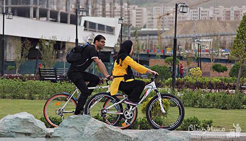 دوچرخه سواری چیتگر